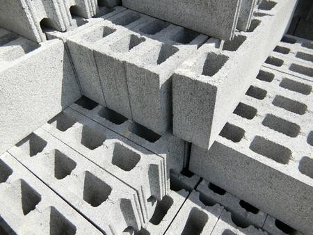Photo for Concrete Blocks - Royalty Free Image