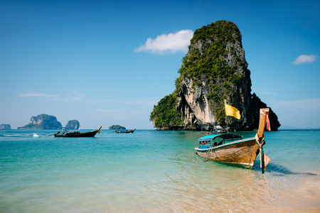 Photo for Long tail. Krabi region. Thailand. - Royalty Free Image
