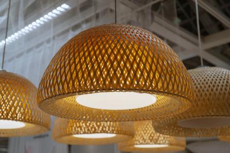 Foto de half round lampshade - Imagen libre de derechos