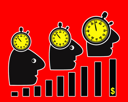 Productivity Increase. More profits through more amount of work in less time makes people sick