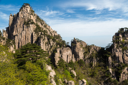Photo for Landscapes of the Huangshan Mountain in China - Royalty Free Image