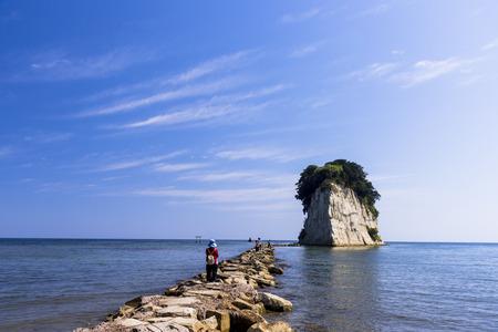 Photo pour Noto Peninsula mitsukejima island - image libre de droit