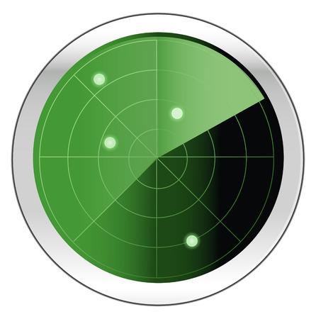 Illustration pour Vector Radar - image libre de droit