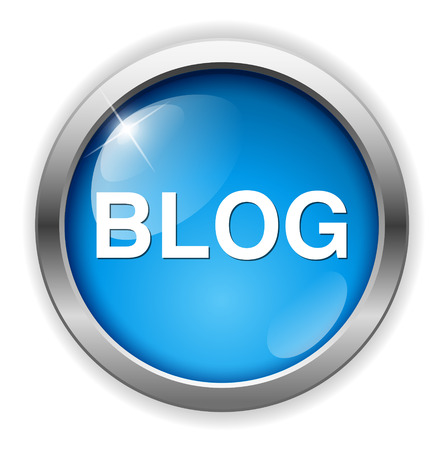Ilustración de blog icon - Imagen libre de derechos