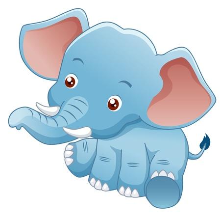 illustration Little Elephant
