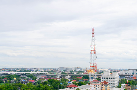 Photo for antenna tower for communication - Royalty Free Image