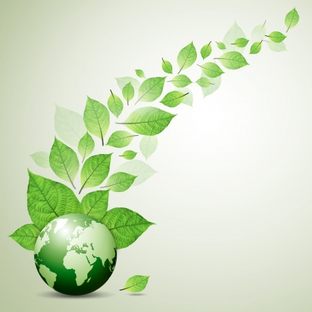 fresh green leaves Take care of your globe