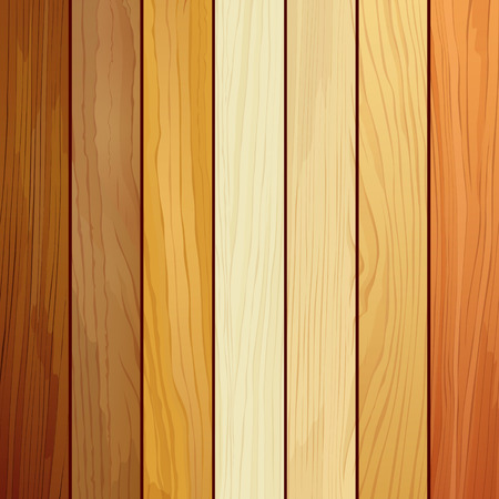 Illustration pour Wood collections realistic texture design background - image libre de droit