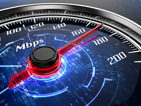 Foto per High speed internet connection concept - Immagine Royalty Free