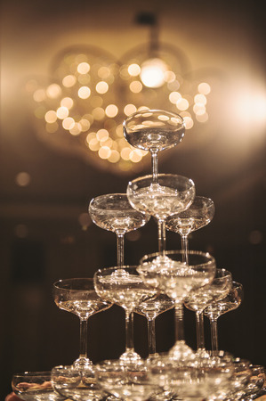 Photo for Champagne tower - Royalty Free Image