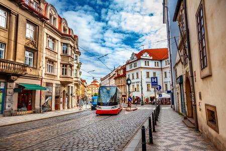Photo pour Prague street - image libre de droit