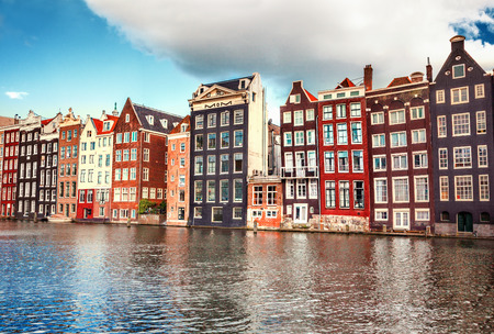 Photo for Houses in Amsterdam - Royalty Free Image