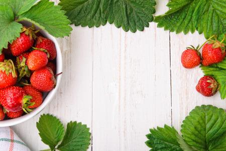 Foto de Strawberry. Background. - Imagen libre de derechos