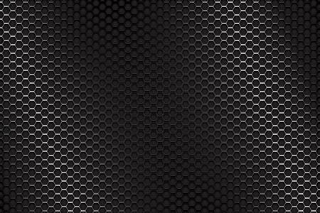 Illustration pour Metal perforated background - image libre de droit