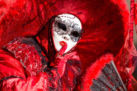 Foto de Mask of Venice carnival - Imagen libre de derechos