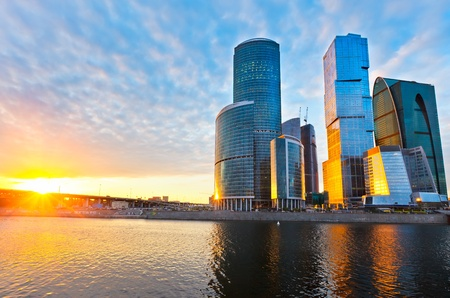 Foto de moscow city - Imagen libre de derechos