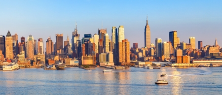 Foto per Panoramic view of Manhattan - Immagine Royalty Free