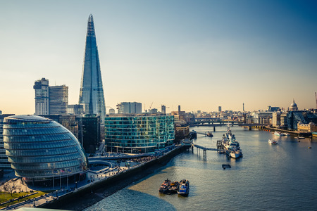 Photo for Thames and London City - Royalty Free Image
