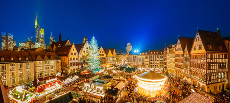 Photo for Christmas market in Frankfurt - Royalty Free Image
