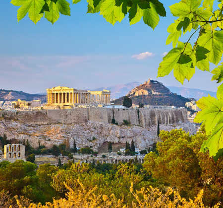 Photo for Acropolis in Athens - Royalty Free Image