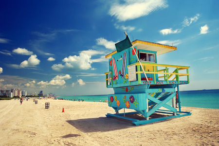 Photo pour South Beach in Miami, Florida - image libre de droit