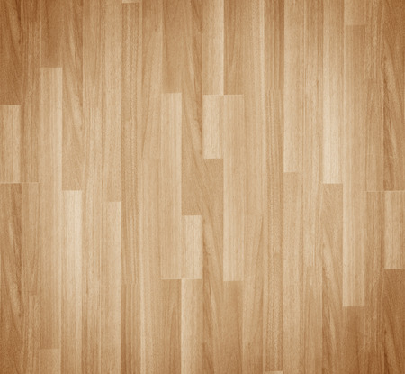 Photo pour Hardwood maple basketball court floor viewed from above - image libre de droit