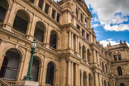 Photo for Treasury Building Brisbane Queensland Australia - Royalty Free Image