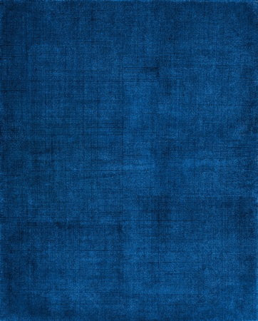 A vintage cloth book cover with a blue sceen pattern and grunge background textures.