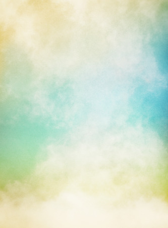Photo for An abstraction of fog and clouds on a textured paper background   Image displays significant paper grain and texture at 100 percent  - Royalty Free Image