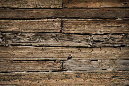 Photo for brown old wood texture with knot - Royalty Free Image