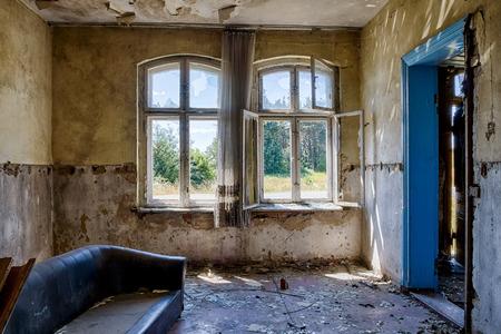Foto de Interior of an old, abandoned building - Imagen libre de derechos