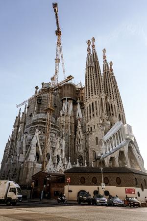 Foto de Sagrada Familia Church by Gaudi - Imagen libre de derechos