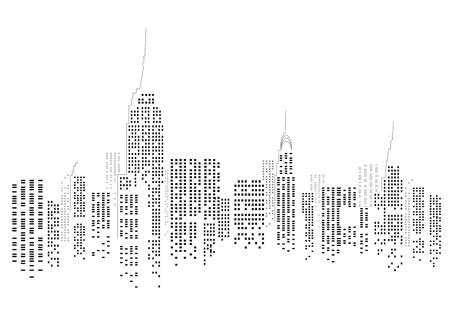 Ilustración de New York City - Imagen libre de derechos