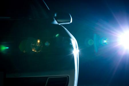 Photo for blue modern car closeup - Royalty Free Image