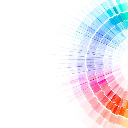Foto de Colour swatches book  Rainbow sample colors catalogue  - Imagen libre de derechos