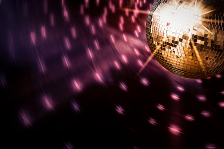 Photo pour disco ball background space backdrop light discoball nightclub design graphic concept - stock image - image libre de droit