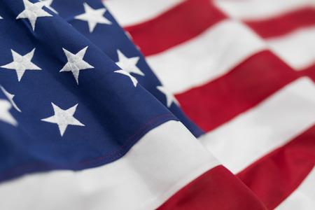 Foto de American flag for Memorial Day, 4th of July or Labour Day - Imagen libre de derechos