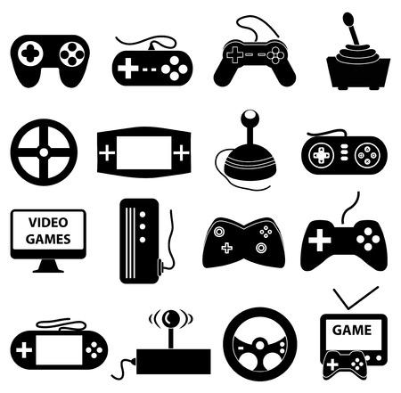 Illustration pour Entertainment icons set - image libre de droit
