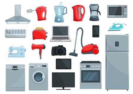 Illustration pour Home appliance icons set. - image libre de droit