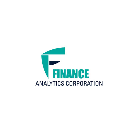 Illustration for Finance analytics corporation vector icon isolated on a white background. Concept of income increase, investment. Finance analytics corporation vector icon isolated on a white background. - Royalty Free Image