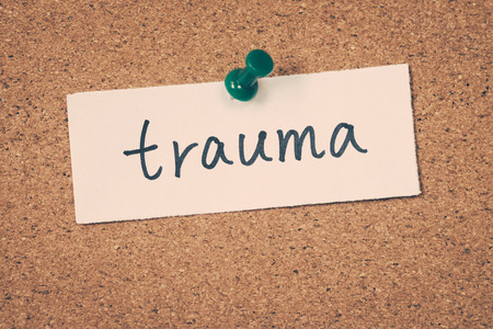 Foto de trauma - Imagen libre de derechos