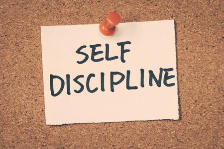 Foto de self discipline - Imagen libre de derechos