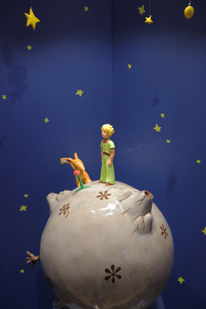 Photo for Monument Little Prince from the story Le Petit Prince - Royalty Free Image