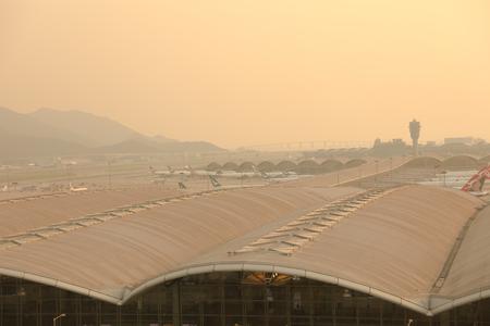 Foto de Hong Kong, 11 may 2019:  Hong Kong International Airport - Imagen libre de derechos