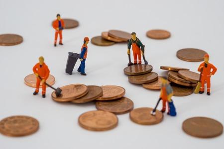 Photo pour Money laundering concept - image libre de droit