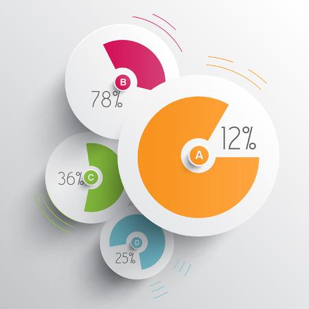 Ilustración de Infographic illustration - Imagen libre de derechos