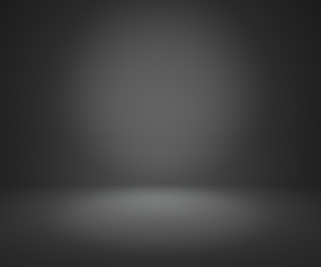 Photo for dark gray gradient abstract background rendering for display or montage your products - Royalty Free Image