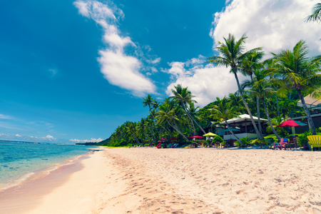 Photo for Coco Palm Garden Beach in Guam - Royalty Free Image