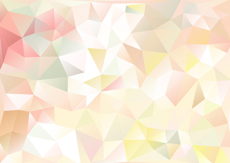 Ilustración de Cubism background Pale pink and multicolor - Imagen libre de derechos