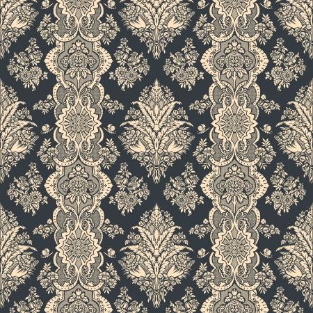 Foto de Vintage background  Floral pattern  Ornament Wallpaper  - Imagen libre de derechos